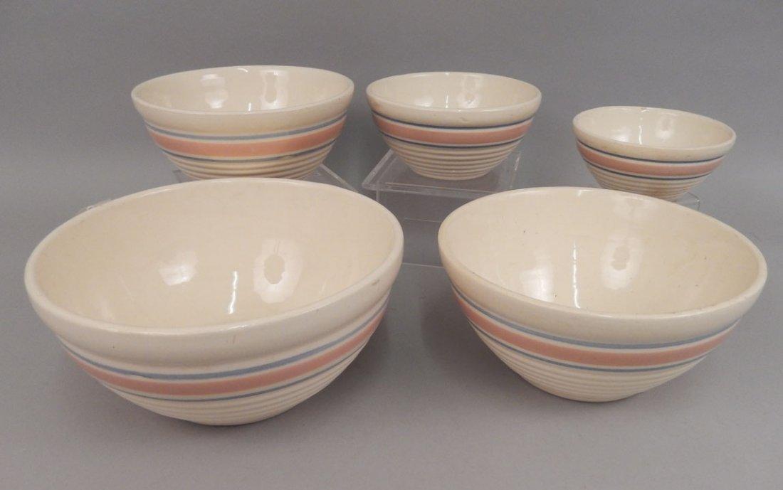 Set of nesting bowls and mixing bowls - 3
