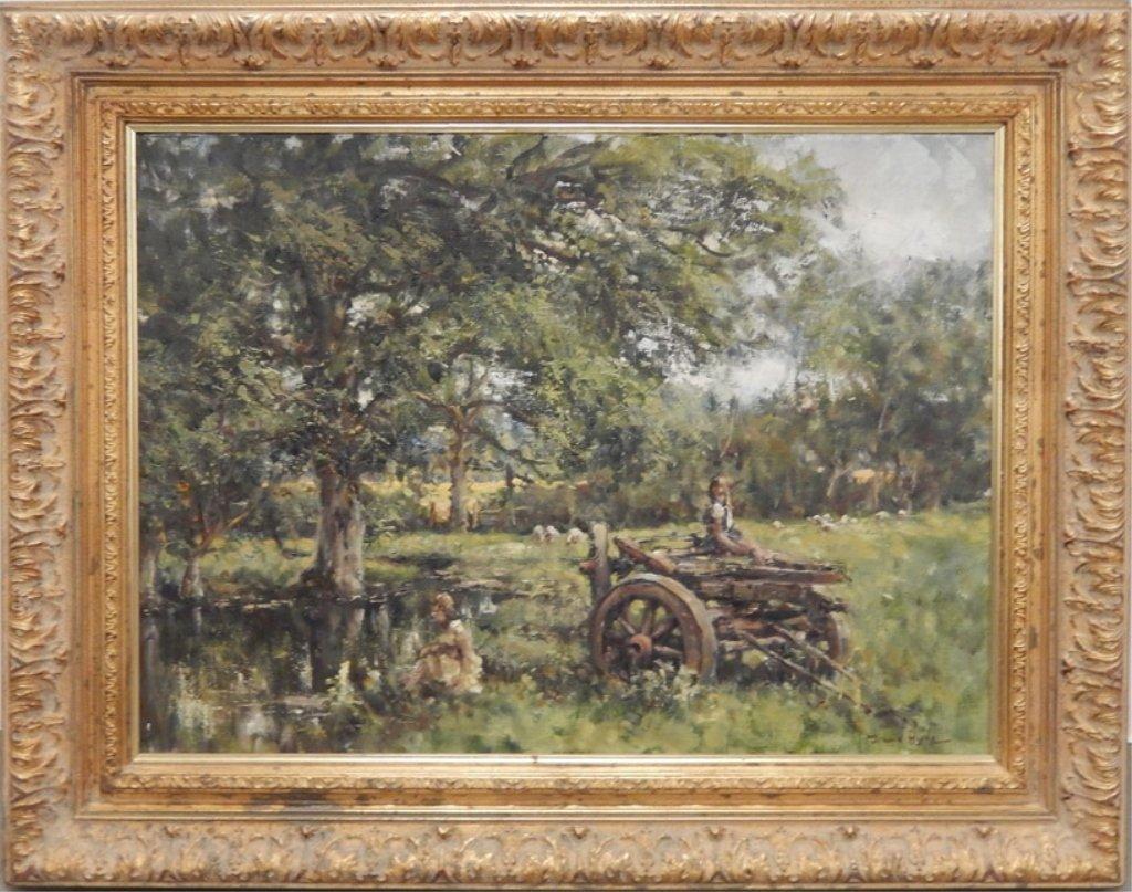 David Hyde oil on canvas