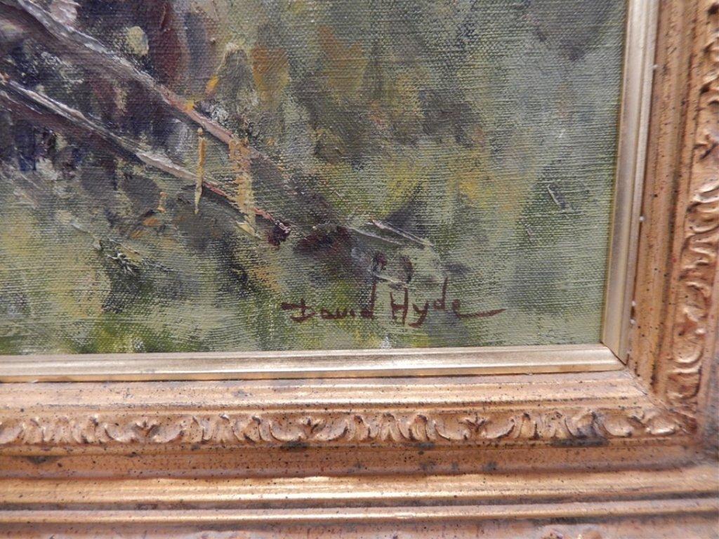 David Hyde oil on canvas - 2