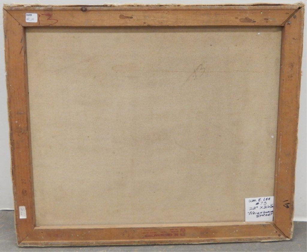 W.(William) E. Lee oil on canvas - 3