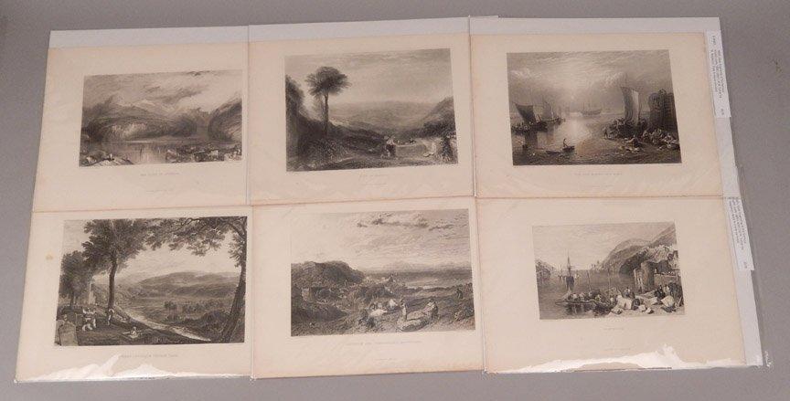 Sixteen J.W.M. Turner steel engravings - 5