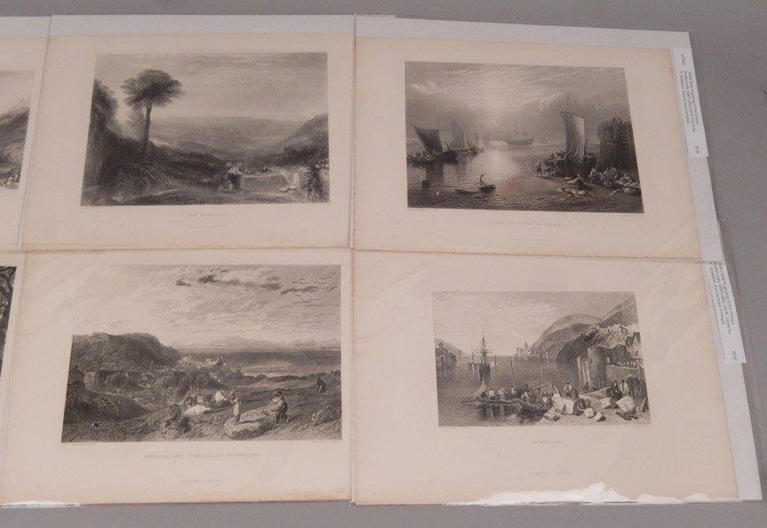 Sixteen J.W.M. Turner steel engravings - 6