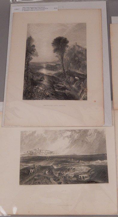 Sixteen J.W.M. Turner steel engravings - 10