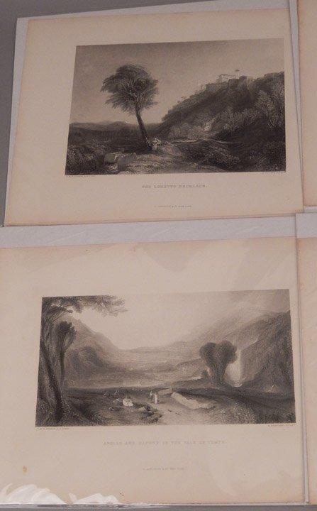 Sixteen J.W.M. Turner steel engravings - 7