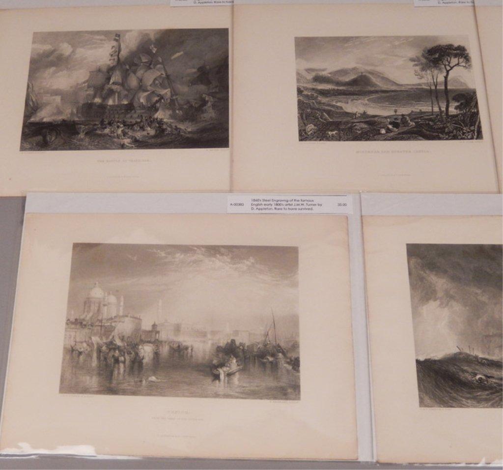 Seventeen J.W.M. Turner steel engravings - 10