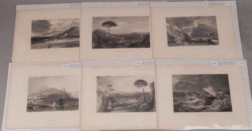 Seventeen J.W.M. Turner steel engravings - 2