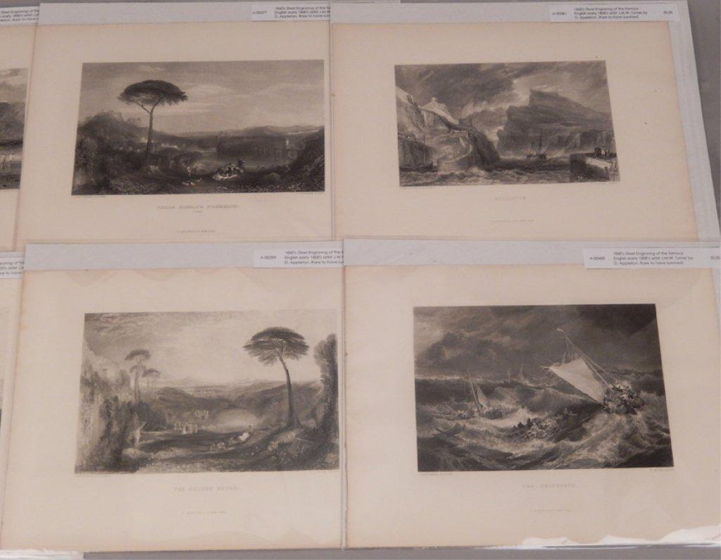 Seventeen J.W.M. Turner steel engravings - 3