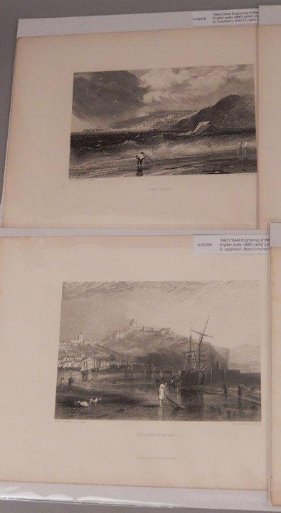 Seventeen J.W.M. Turner steel engravings - 4