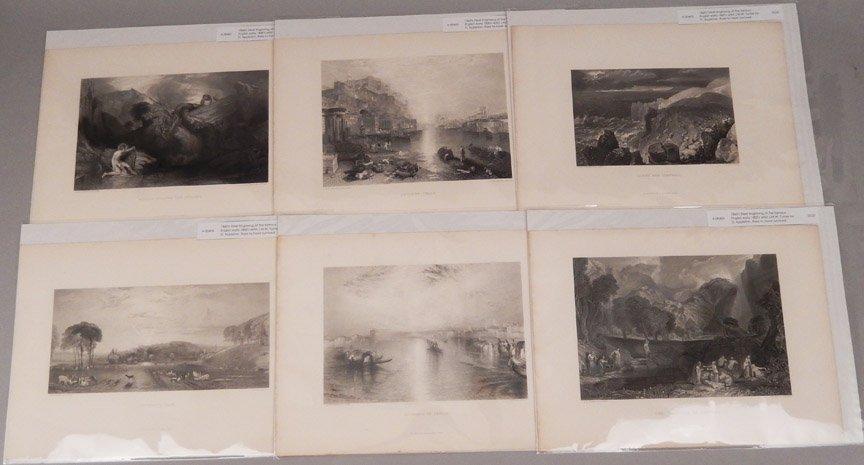 Seventeen J.W.M. Turner steel engravings - 5