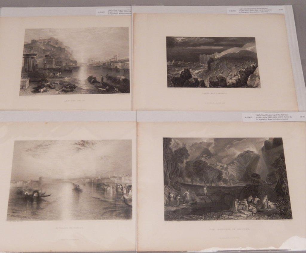 Seventeen J.W.M. Turner steel engravings - 6