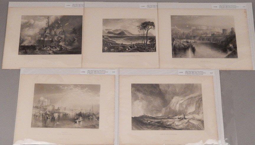 Seventeen J.W.M. Turner steel engravings - 8