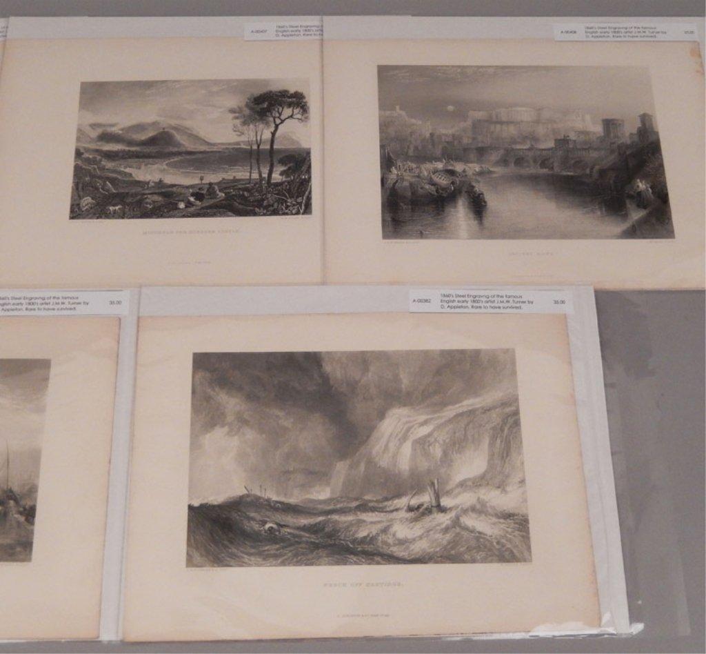 Seventeen J.W.M. Turner steel engravings - 9