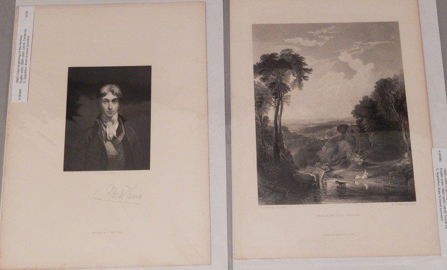 Sixteen J.W.M. Turner steel engravings - 4
