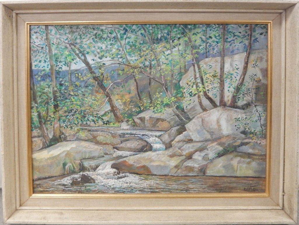 (Harry F.) Walter oil on canvas