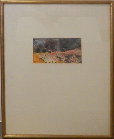 Boris Lovet-Lorski watercolor on paper