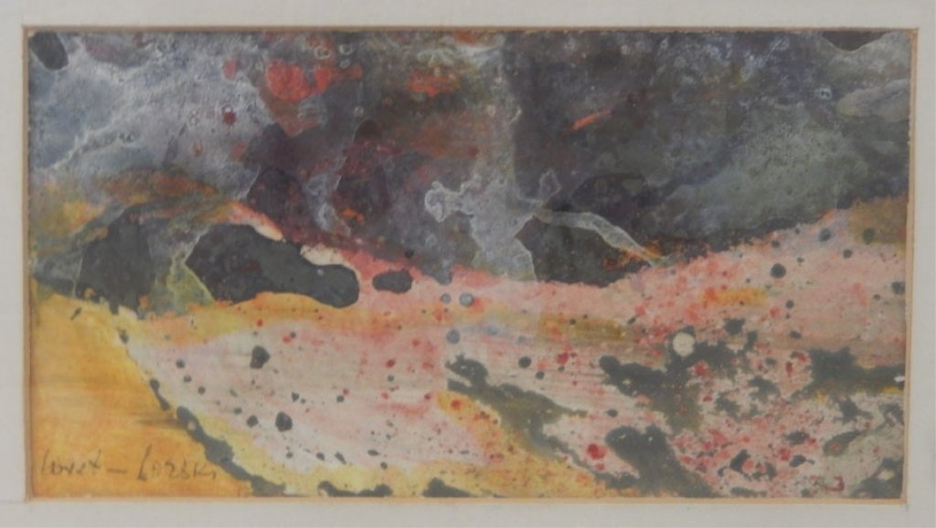Boris Lovet-Lorski watercolor on paper - 2