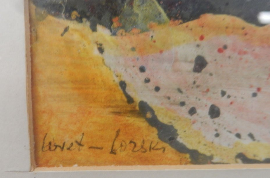 Boris Lovet-Lorski watercolor on paper - 3
