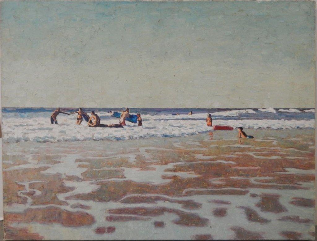 W.(William) E. Lee oil on canvas