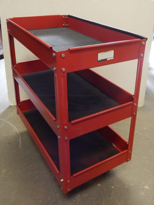 Steel industrial cart - 2