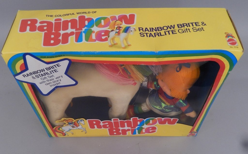 Mattel Rainbow Brite & Starlite Gift Set in original - 4