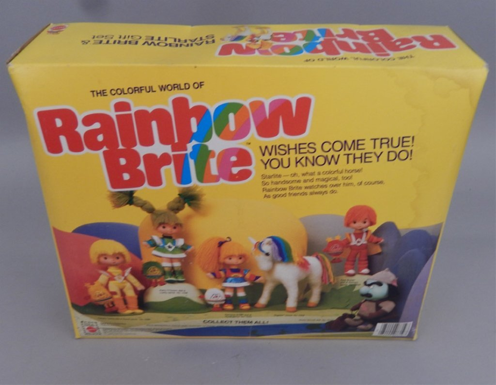 Mattel Rainbow Brite & Starlite Gift Set in original - 5