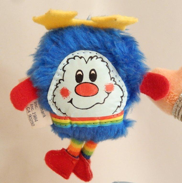 Mattel Rainbow Brite Buddy Blue and Champ Sprite - 3