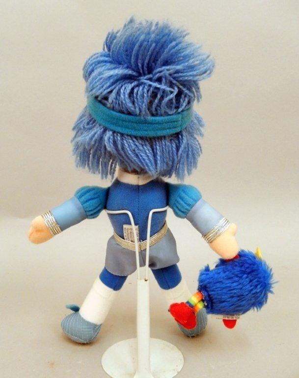 Mattel Rainbow Brite Buddy Blue and Champ Sprite - 4