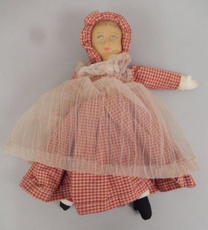 Topsy Turvy cloth doll