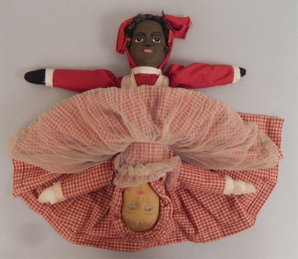 Topsy Turvy cloth doll - 3