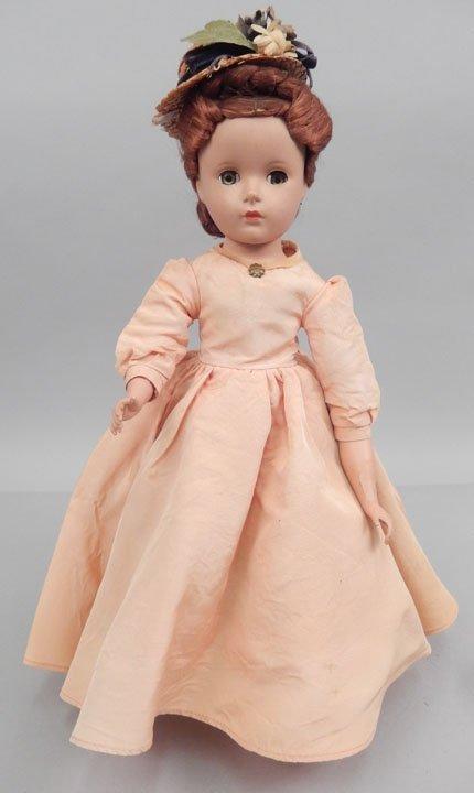 Madame Alexander Marme hard plastic doll