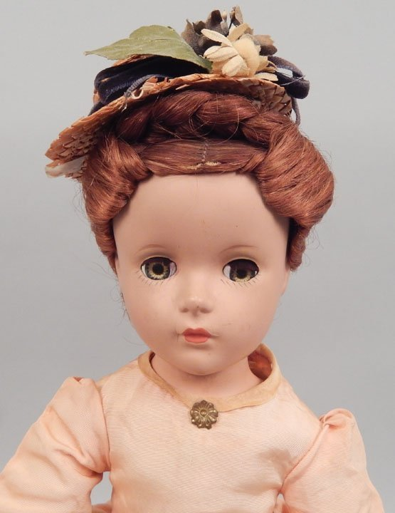 Madame Alexander Marme hard plastic doll - 2