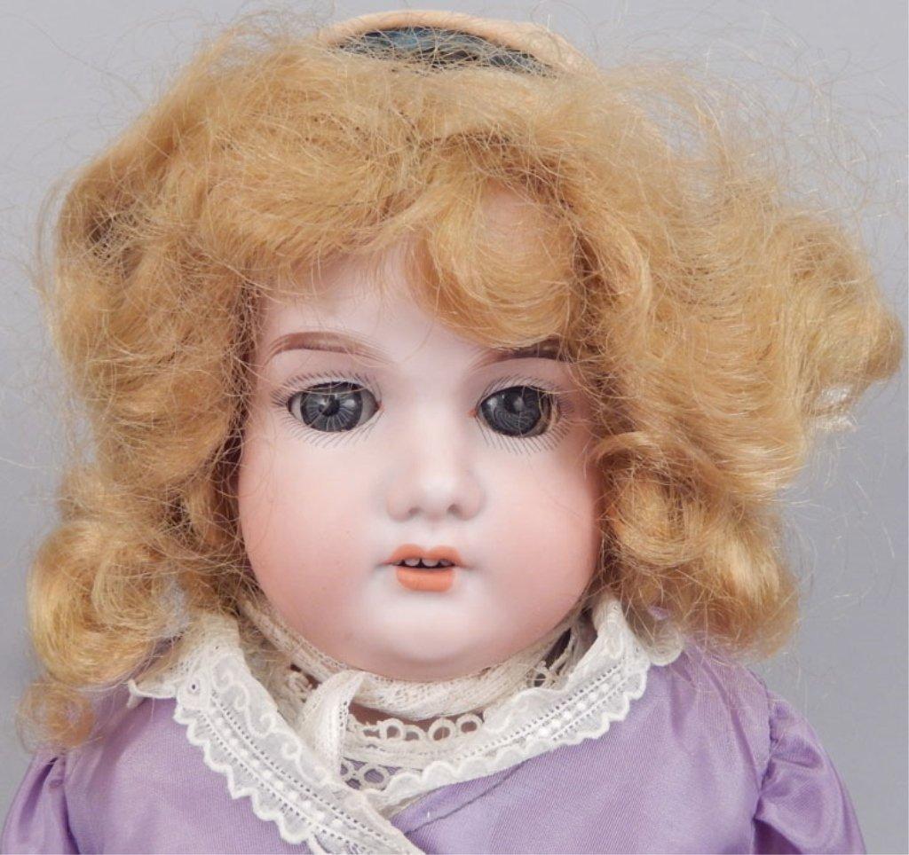 Armand Marseille 370 bisque shoulder head doll - 2