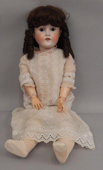 Armand Marseille Queen Louise bisque head doll