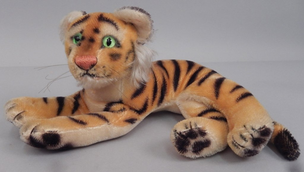 Two Steiff mohair tigers - 2