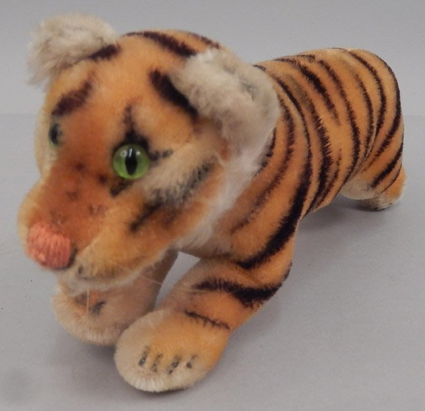 Two Steiff mohair tigers - 4