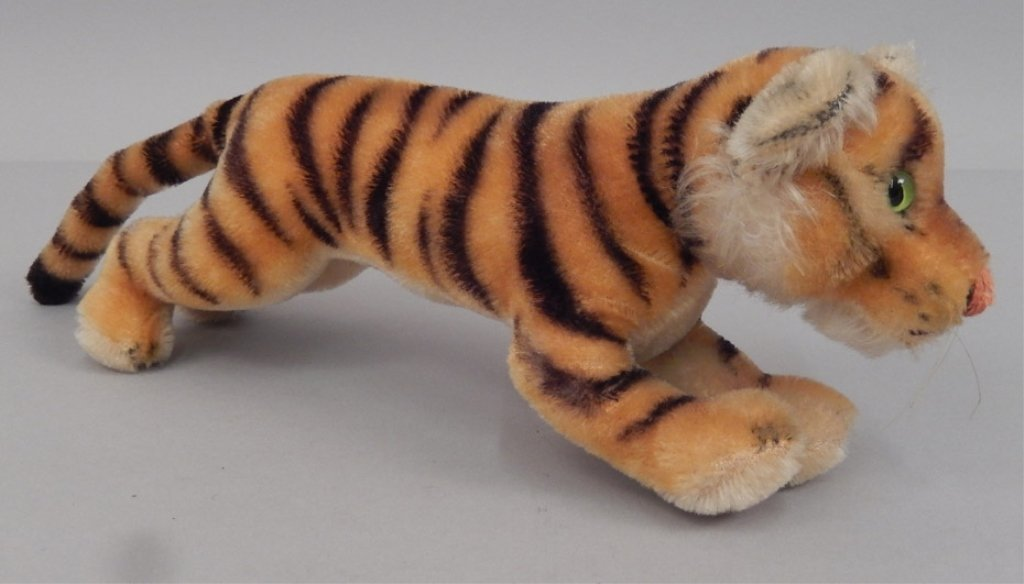 Two Steiff mohair tigers - 5