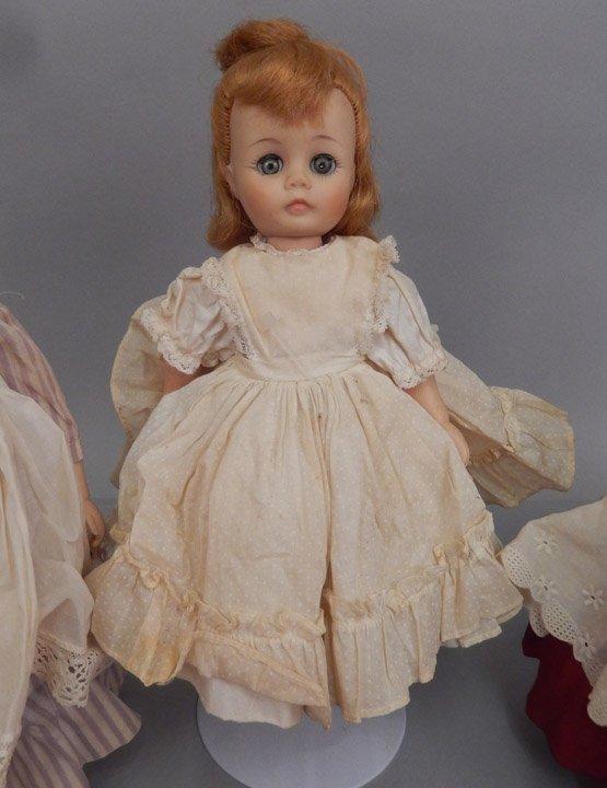 Six Madame Alexander dolls - 2