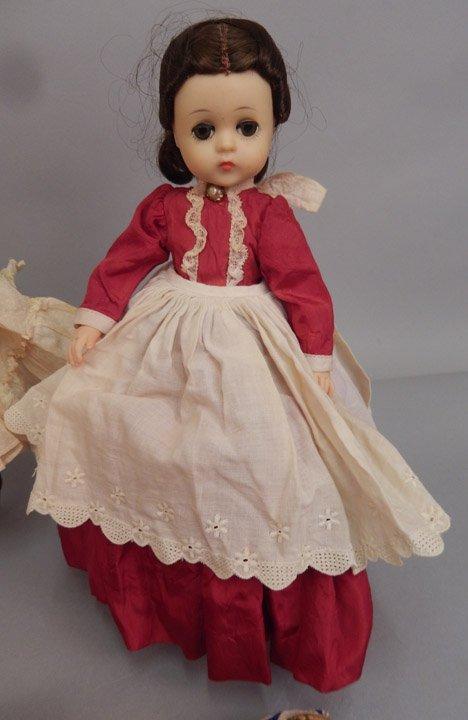 Six Madame Alexander dolls - 3