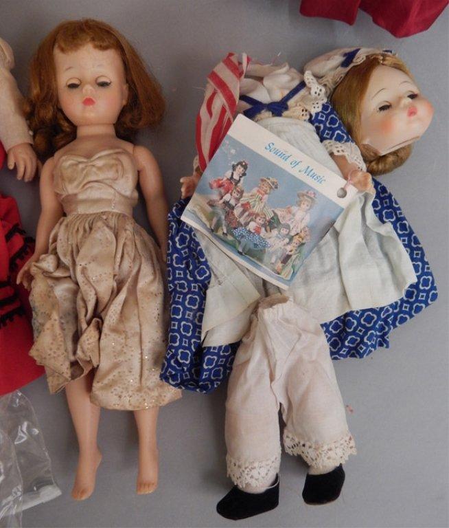 Six Madame Alexander dolls - 6