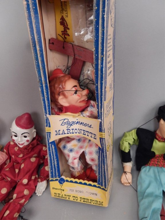 Large grouping of marionettes - 6