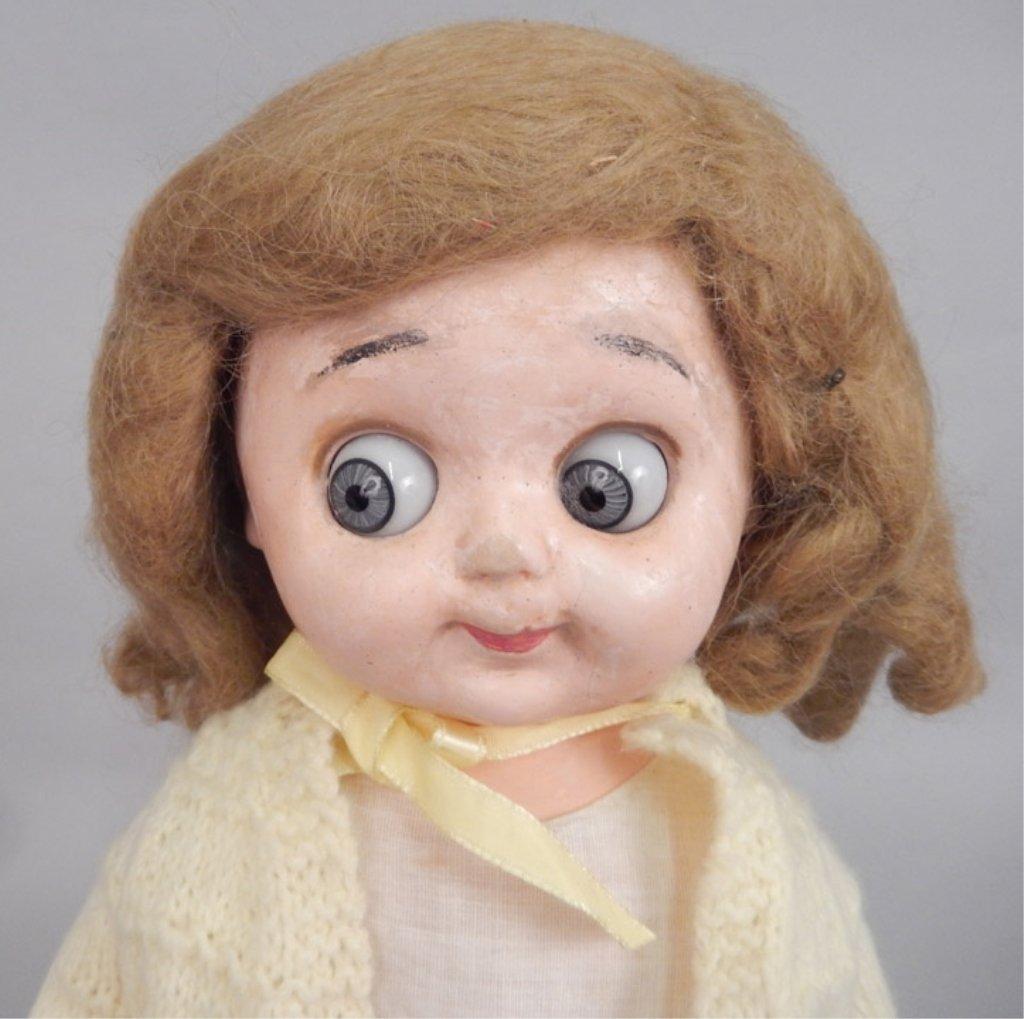 Einco googly eyed composition doll - 2