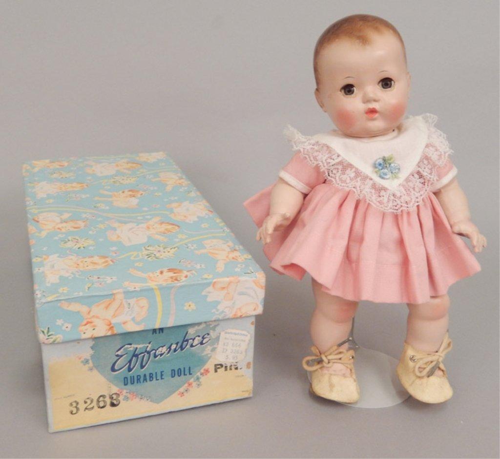 Effanbee hard plastic Patsy Baby in original box