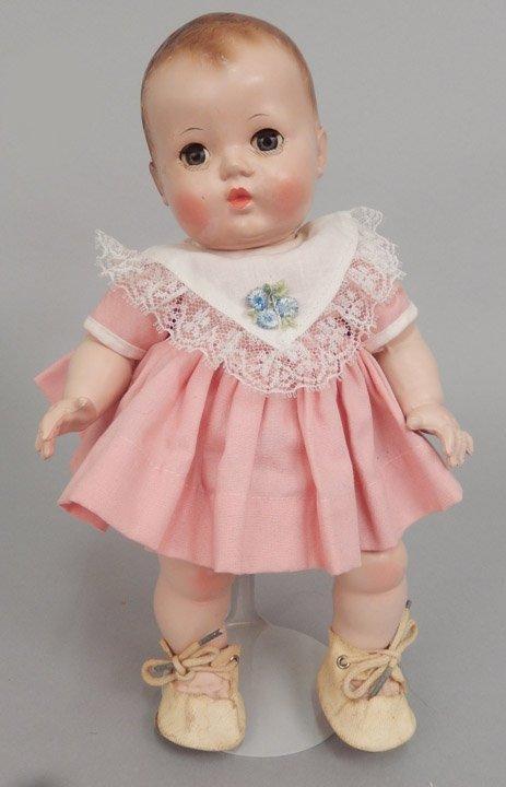 Effanbee hard plastic Patsy Baby in original box - 2