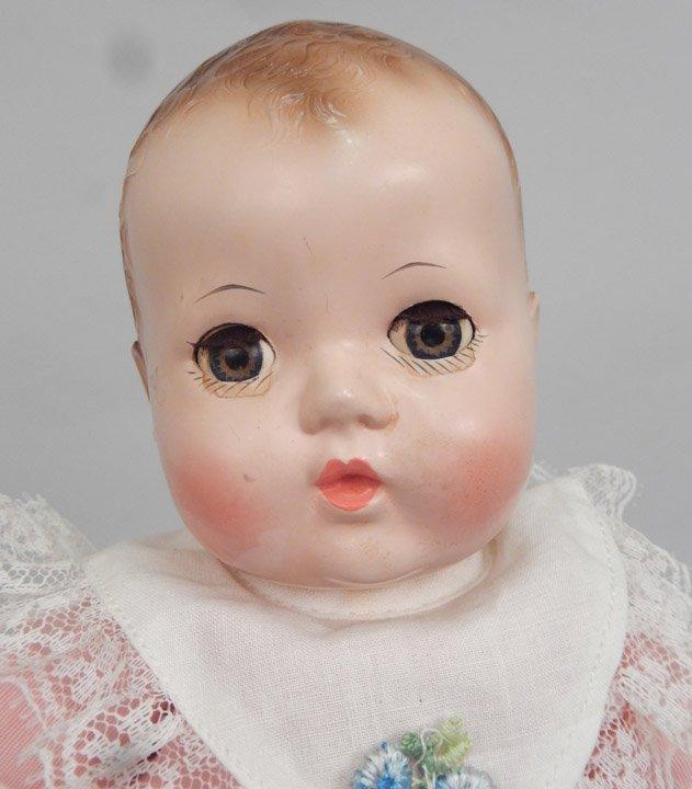 Effanbee hard plastic Patsy Baby in original box - 3