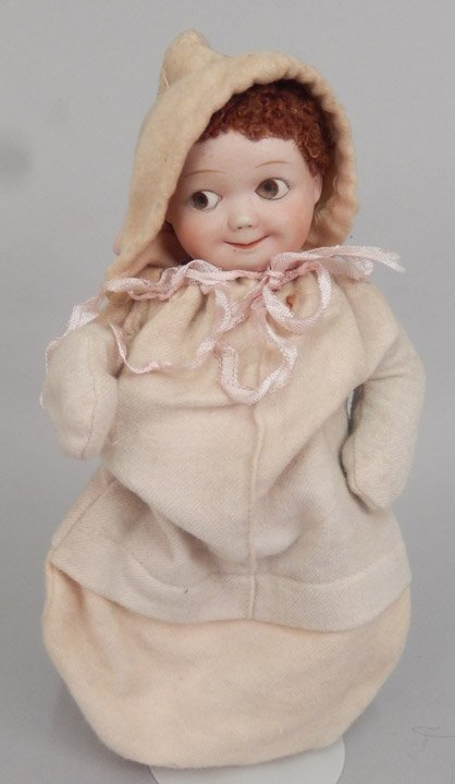 Heubach googly eyed bisque head doll