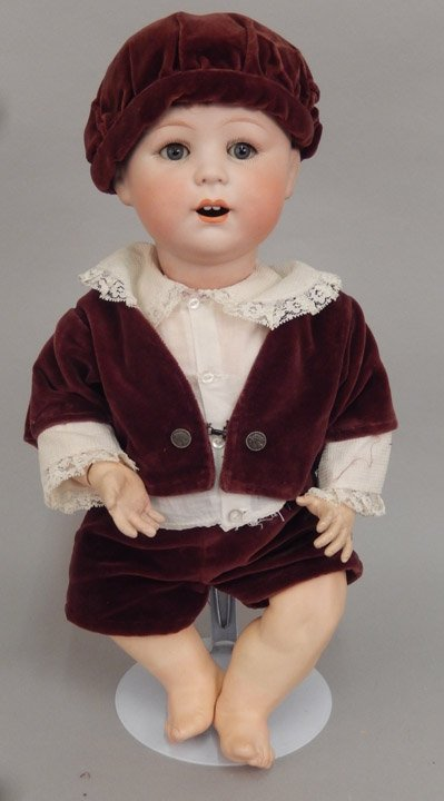 German bisque Jutta character doll