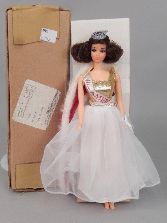1970's Walk Lively Miss America Barbie doll