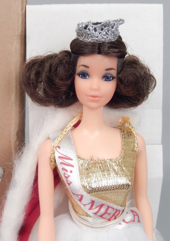 1970's Walk Lively Miss America Barbie doll - 2