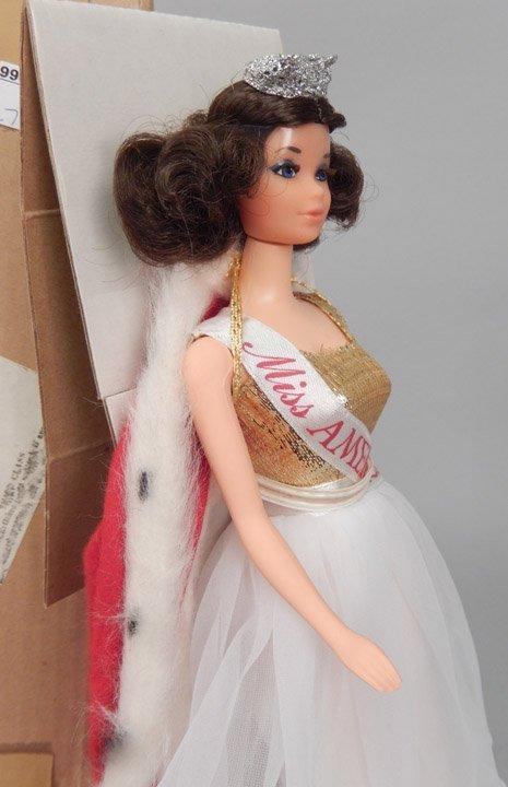 1970's Walk Lively Miss America Barbie doll - 3