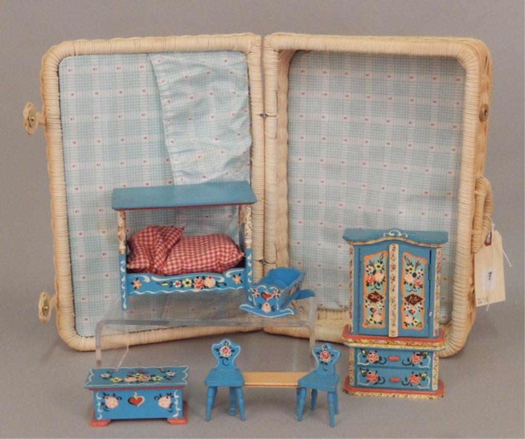 German 1970-80's Bedroom furniture set in original